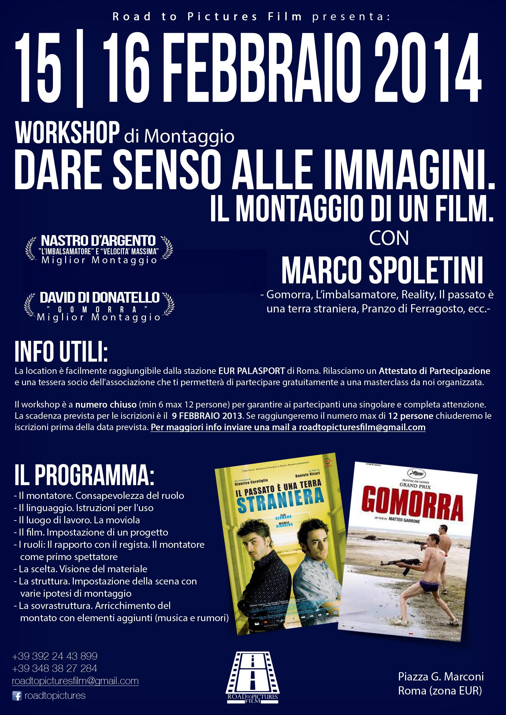 marco spoletini workshop