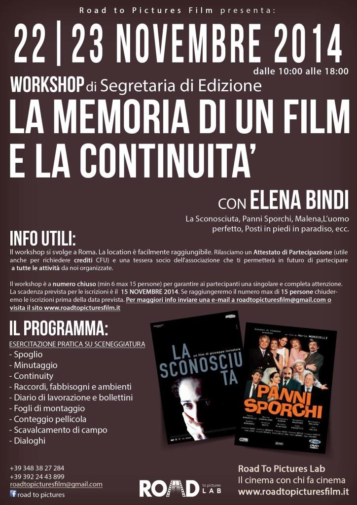 Workshop di segretaria di edizione_22_23_nov_2014